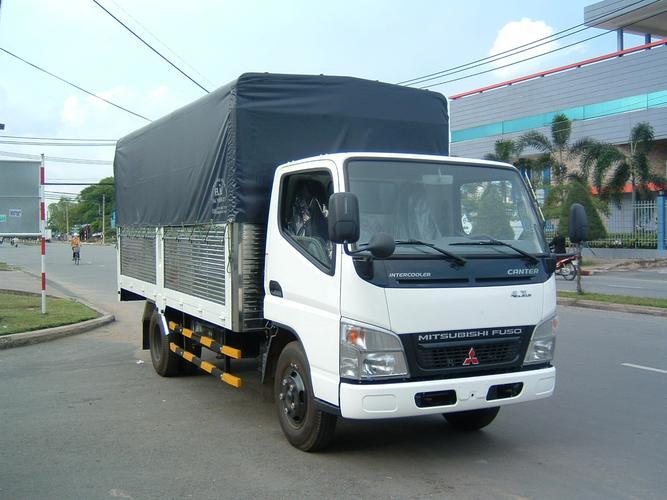 Bán xe Mitsubishi Canter 4.7LW năm 2014, màu trắng, nhập khẩu