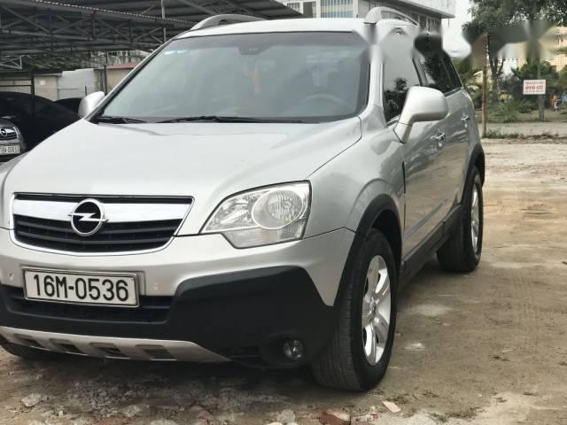 Cần bán Opel Antara đời 2008, màu bạc, nhập khẩu nguyên chiếc số sàn giá cạnh tranh