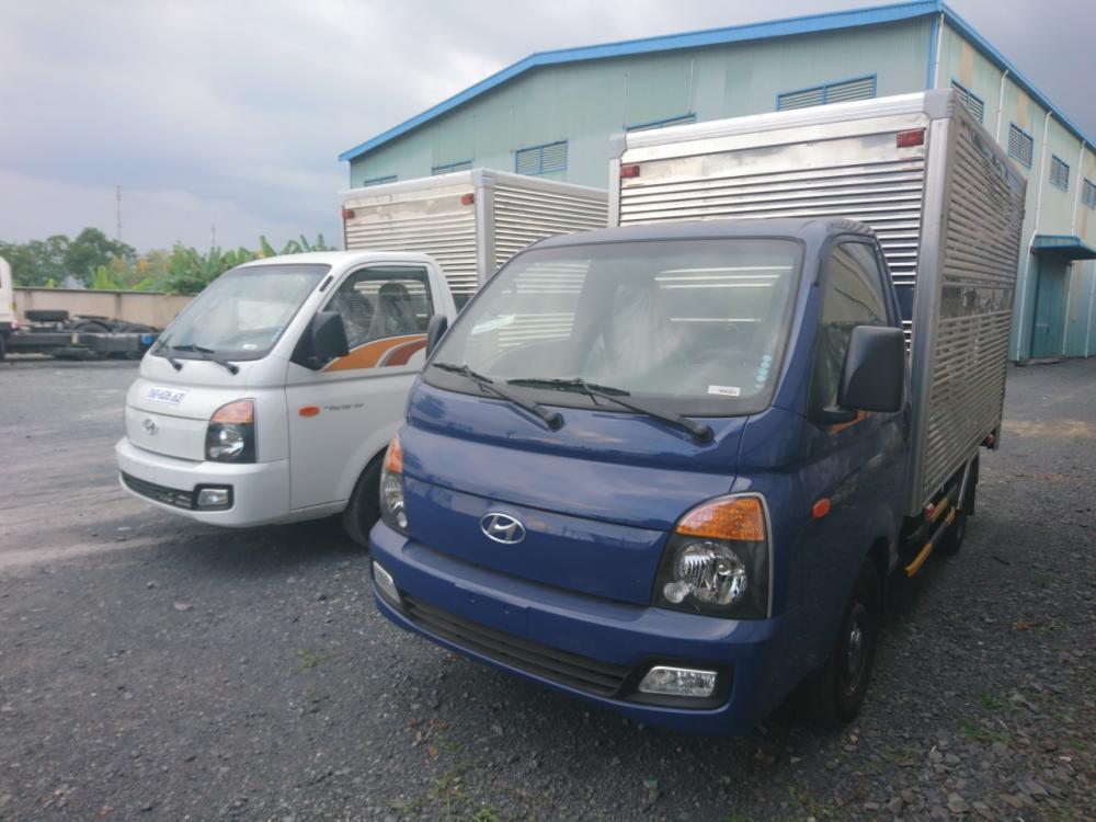 Cần bán Hyundai Porter 1.5 tấn màu xanh lam