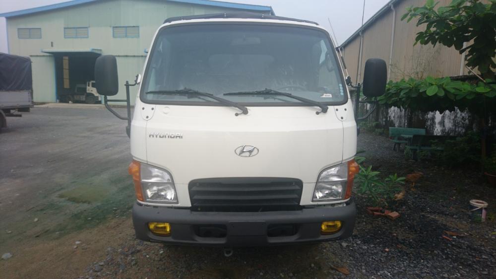 Bán Hyundai thùng bạt bửng nâng 2.5T