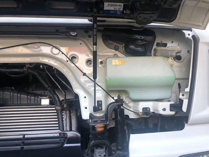 Bán xe Hyundai HD sản xuất 2014, màu trắng