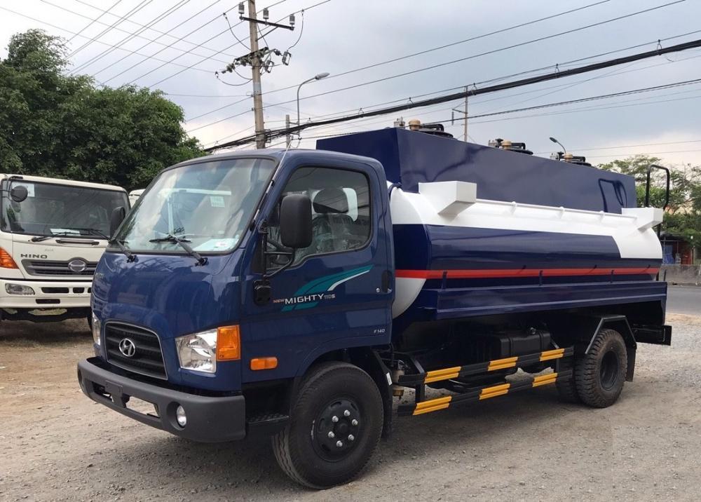 Bán xe Hyundai Mighty 110S-Bồn nhiên liệu 8m3 sản xuất 2019