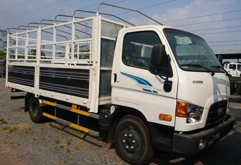 Bán Hyundai New Mighty 75s hạ tải -1T8 vào thành phố