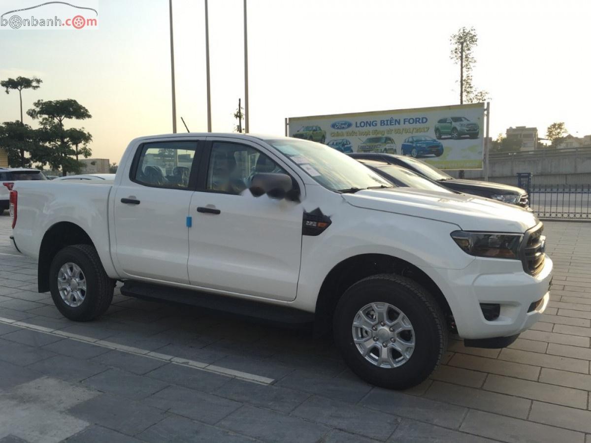 Bán Ford Ranger XLS sản xuất 2019, màu trắng, nhập khẩu nguyên chiếc