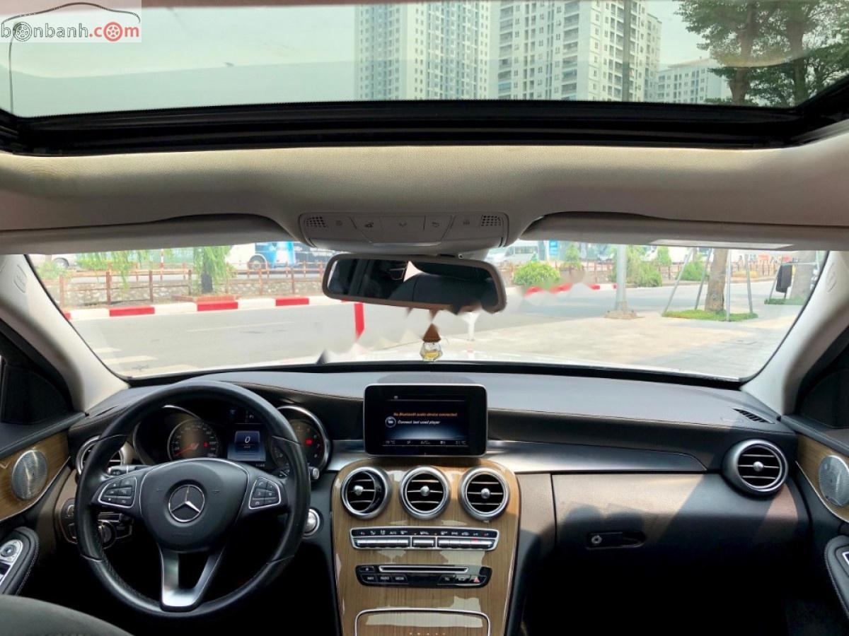 Cần bán gấp Mercedes C250 sx 2016, màu trắng
