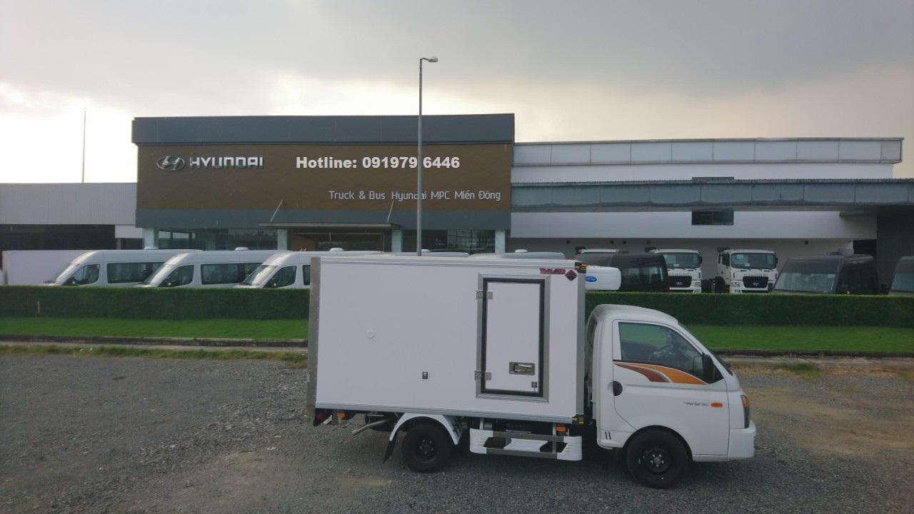 Cần bán xe Hyundai Porter Đông lạnh đời 2020, màu trắng