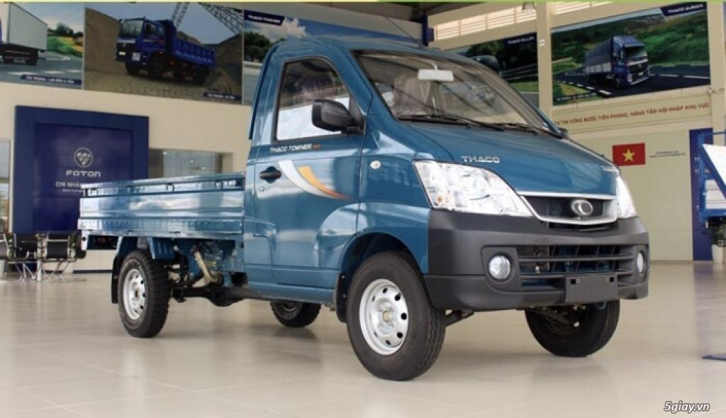 Xe tải 9 tạ free 100% chi phí trước bạ, hỗ trợ trả góp 80% giá trị xe.