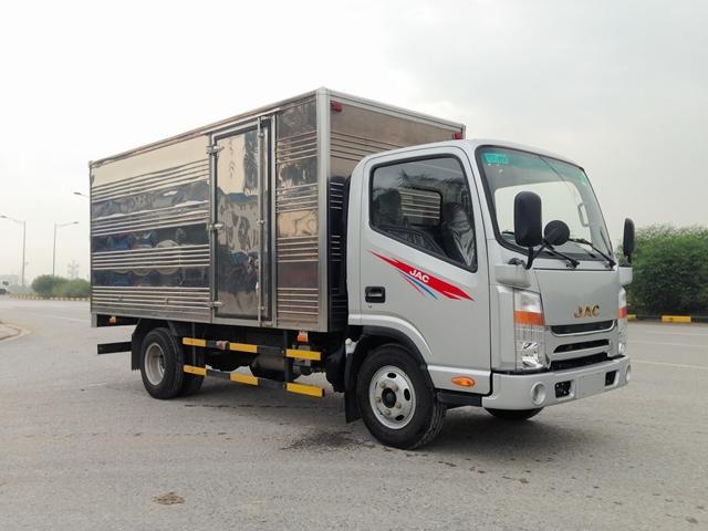 Bán xe tải JAC N650 và N650Plus tải 6.5T, thùng dài 5.3m và 6.2m, giá tốt