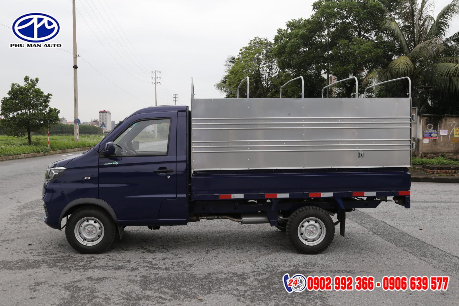 Xe tải nhẹ Dongben SRM 930kg máy xăng - Công ty xe tải SRM 930kg thùng bạt giá rẻ
