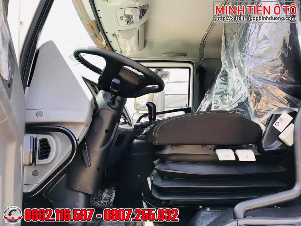 Xe tải 8 tấn thùng dài 8 mét - xe tải 8 tấn thùng chở nệm mút xốp