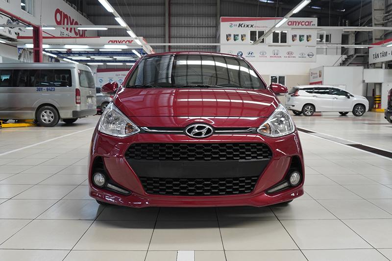 Bán xe Hyundai Grand i10 năm 2017, màu đỏ, chính chủ, 349 triệu