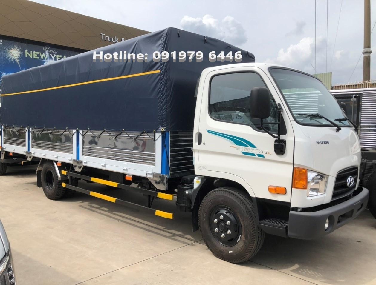 Hyundai Mighty 110XL-7T  thùng dài 6,3m