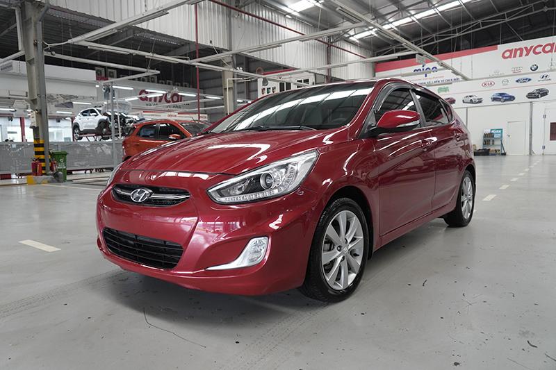 Cần bán xe Hyundai Accent Blue đời 2015, màu đỏ, xe nhập, giá tốt