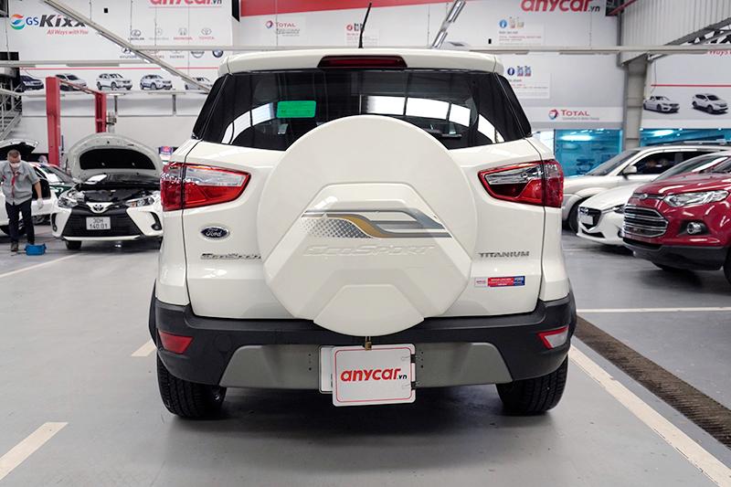 Xe Ford EcoSport Titanium đời 2019, màu trắng, 579 triệu