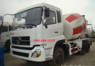 Bán xe bồn trộn bê tông dongfeng 10 khối 3 cầu 6x6 giá 1 tỷ 200 tr tại Hà Nội