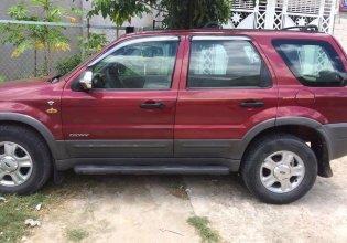 Cần bán lại xe Ford Escape đời 2003, màu đỏ, nhập khẩu nguyên chiếc, xe gia đình giá 170 triệu tại Bình Thuận