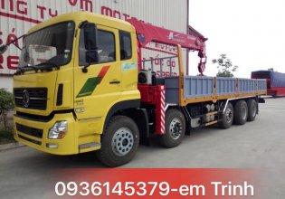 Cần bán xe cẩu Dongfeng 4 chân L315, gắn cẩu 8T 10T 12T giá 1 tỷ 815 tr tại Tp.HCM