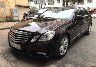 Bán ô tô Mercedes E250 CGI đời 2010, màu đen, nhập khẩu nguyên chiếc giá 830 triệu tại Tp.HCM