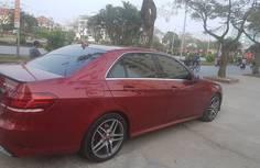 Bán ô tô Mercedes E250 Limitted sản xuất 2015, màu đỏ, xe nhập giá 2 tỷ 100 tr tại Hải Phòng