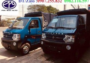 Xe tải DongBen 810kg thùng mui bạt bán trả góp hỗ trợ vay ngân hàng giá 160 triệu tại Tp.HCM