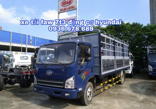 Xe tải FAW 7,3 tấn động cơ Hyundai Hàn Quốc, thùng dài 6m25, đời mới nhất giá 560 triệu tại Hà Nội