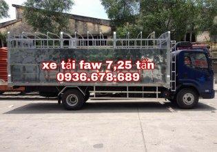 Bán xe tải FAW 7,25 tấn, động cơ 140PS cực khỏe, thùng dài 6m3, giá rẻ nhất giá 460 triệu tại Hà Nội
