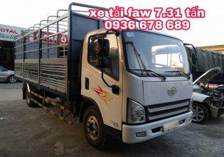 Xe tải Faw 7,31 tấn thùng dài 6m25, đời mới, giá rẻ nhất giá 418 triệu tại Hà Nội