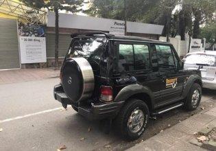 Cần bán gấp Hyundai Galloper đời 2004, màu đen, nhập khẩu giá 238 triệu tại Hà Nội