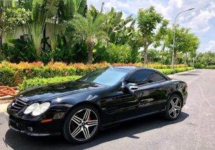 Bán Mercedes SL500 đời 2007, màu đen, xe nhập giá 616 triệu tại Tp.HCM