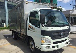 Bán xe Thaco Aumark 500A thùng kín 4m2, màu trắng, trả góp giá 387 triệu tại Tp.HCM