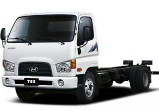 Bán xe Hyundai Mighty 75S-3.5T đời 2020, màu trắng giá 668 triệu tại An Giang