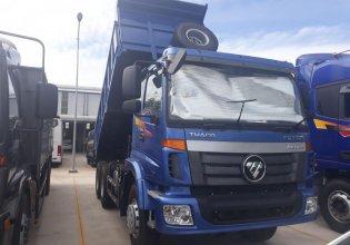 Bán xe ben Thaco 2 cầu tải 13 tấn thùng ben 10 khối siêu khỏe trả góp giá 1 tỷ 210 tr tại Tp.HCM
