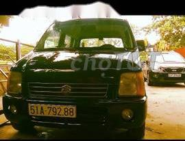 Cần bán gấp Suzuki Cultis Wagon sản xuất 2004, màu đen, giá tốt giá 100 triệu tại Tp.HCM