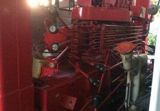 Bán xe tải thùng đời 2008 có cần cẩu, màu đỏ, nhập khẩu, 420 triệu giá 420 triệu tại Long An