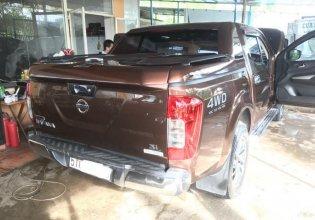 Bán Nissan Navara SL MT 4WD 2016, màu nâu, đúng chất, giá thương lượng, hỗ trợ trả góp giá 606 triệu tại Tp.HCM