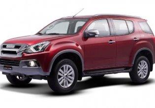 Xe 7 chỗ ISUZU Mu-X , màu đỏ, Prestige 1,9 AT 4x2, Giá rẻ giá 900 triệu tại Tp.HCM