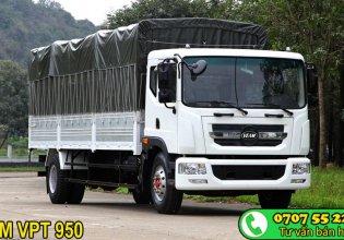Cần bán xe tải Veam VPT950 9T3 dài 7m6, đời 2018, màu trắng, vay 100% giá 760 triệu tại Tp.HCM