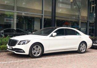 Cần bán Mercedes S450L 2018 chạy 3.000km màu trắng giá tốt giá 3 tỷ 580 tr tại Hà Nội