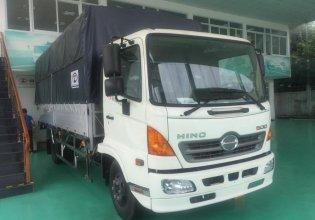 Bán xe tải mui bạt Hino 6 tấn thùng dài 5,6m đời 2017, màu trắng giá mềm giá 935 triệu tại Đà Nẵng