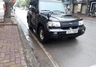 Bán xe Hyundai Galloper 2.5 AT năm sản xuất 2003, màu đen, nhập khẩu giá 165 triệu tại Hà Nội