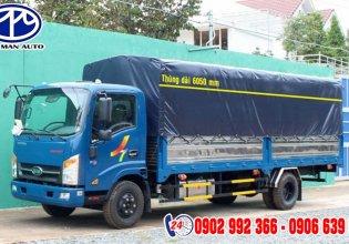 Bán xe tải Veam 1.9 tấn thùng 6.0 mét, bán trả góp hỗ trợ ngân hàng 85%, xe tải Veam giá tốt, khuyến mãi 100% trước bạ giá 495 triệu tại Bình Dương