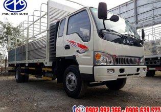 Bán xe tải Jac 9 tấn thùng bạt, hỗ trợ vay vốn ngân hàng toàn quốc, Lh: 0906639577, 0902992366 đặt xe giá 595 triệu tại Bình Dương