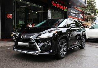 Bán xe Lexus RX350 đời 2016, đăng ký 2017, màu đen, nhập khẩu, odo hơn 1 vạn giá 3 tỷ 689 tr tại Hà Nội