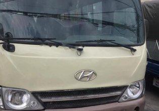 Bán Hyundai County đời 2005, màu vàng, xe đang hoạt động tốt, vừa đăng kiểm giá 160 triệu tại Thái Nguyên