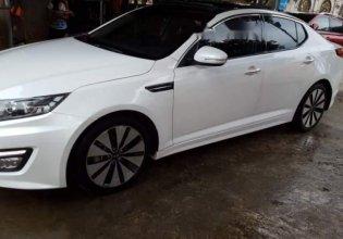 Cần bán gấp Kia K5 sản xuất năm 2015, màu trắng giá cạnh tranh giá 340 triệu tại Hà Nội