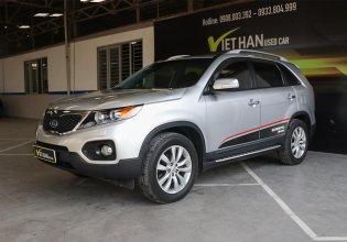 Bán ô tô Kia Sorento 2.4MT đời 2010, màu bạc, nhập khẩu nguyên chiếc giá 498 triệu tại Tp.HCM
