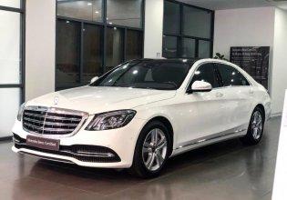 Bán Mercedes S450L màu trắng - Xe chính hãng đã qua sử dụng giá 3 tỷ 560 tr tại Hà Nội