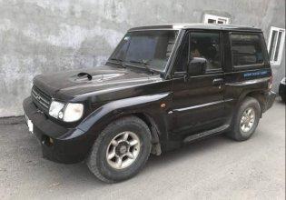 Cần bán Hyundai Galloper đời 2003, màu đen, nhập khẩu nguyên chiếc giá 135 triệu tại Hà Nội