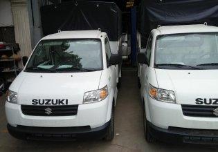 Suzuki Super Carry Pro 2019 2018, màu trắng, thùng siêu dài, thùng kín, thùng mui bạt, tại lạng sơn, cao bằng giá 336 triệu tại Cao Bằng