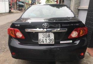 Cần bán lại xe Toyota Corolla altis 1.8 AT năm 2009, màu đen giá 462 triệu tại Hà Nội